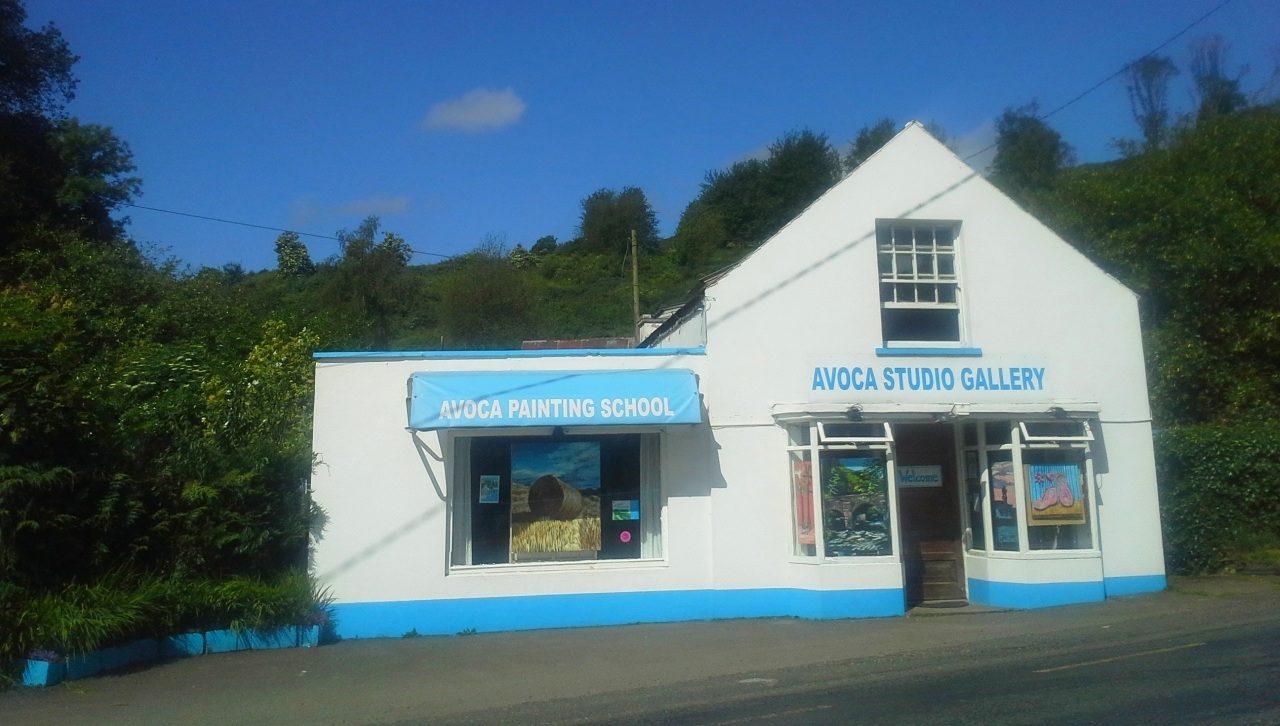 Avoca Studio Gallery in the sunshine