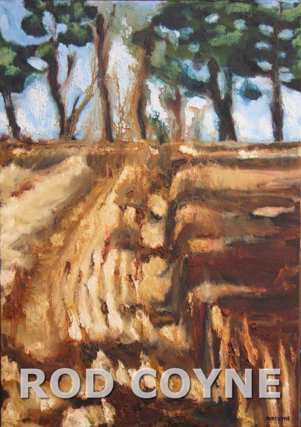 Barley Harvest - canvas print