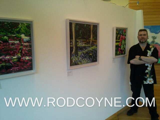 Rod Coyne at National Botanical Gardens, Dublin.