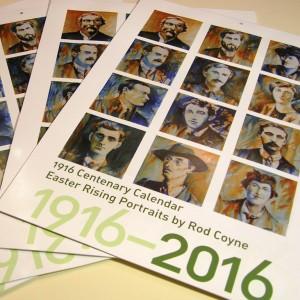 Rod Coyne 1916 Calendar fanned covers