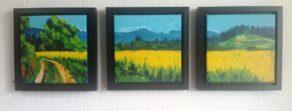 Summer Field canvas print