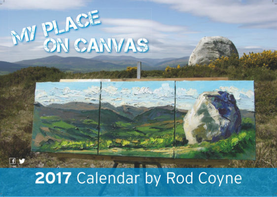 My Place on Canvas 2017 Calendar cover page.