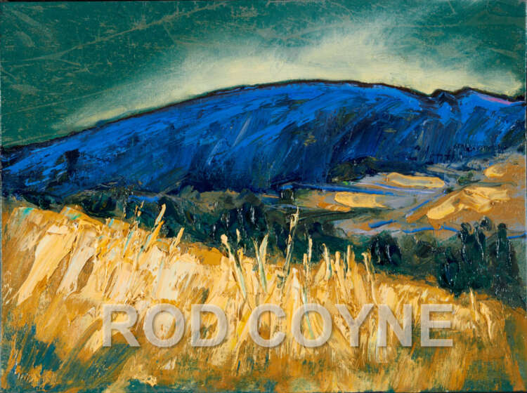 High resolution Sleeping Giant image with Rod Coyne watermark.