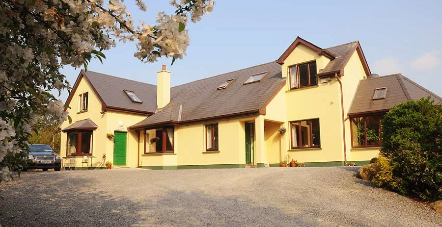 Spacious modern house when you Book your own Workshop Accommodation at Bramble Rock Laragh.
