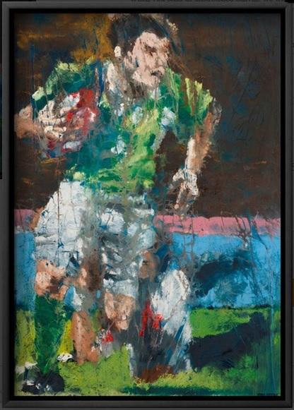 Brian O'Driscoll, Celestial Steps -framed print.
