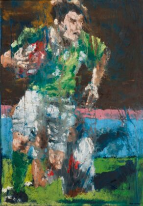 Brian O'Driscoll, Celestial Steps - low resolution image.