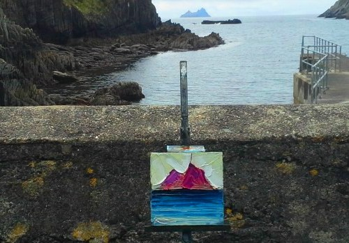 "Rod Coyne Shortlisted ""Fire & Ice"" for NOA UK_here the ""Skellig Ice"" just completed in Kerry, Ireland."