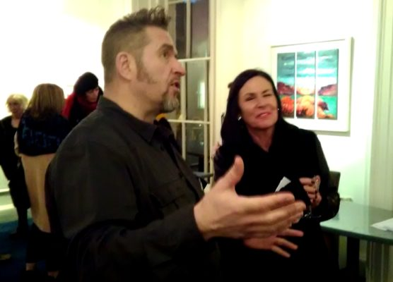 Rod explains the intricacies of Seeing Red in detail. Exhibition launch at the Origin Gallery, Dublin.