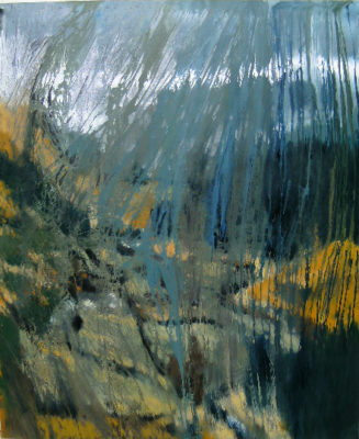 """""""Wicklow Mountains"""" as featured by Ros Drinkwater for the Sunday Business Post."""