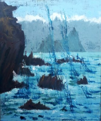 """""""Island Cathedral"""" as featured by Ros Drinkwater for the Sunday Business Post."""
