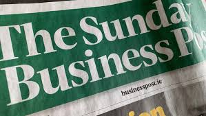 sunday business post front page