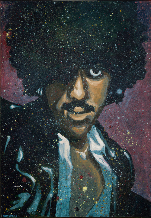 phil lynott portrait