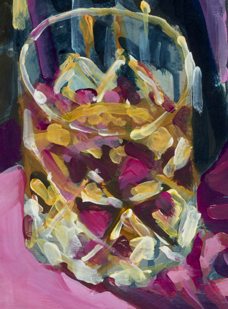 """a detail of artist rod coyne's still life painting """"ultimate fathers day"""" is shown here."""