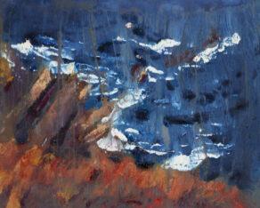 """artist rod coyne's seacape """"cill rialaig dream"""" is shown here."""