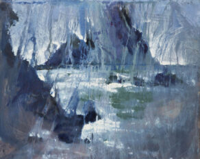"artist rod coyne's seacape ""irregular's dream"" is shown here."